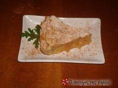 Μηλόπιτα νηστίσιμη #sintagespareas Sweet Recipes, French Toast, Sweets, Bread, Vegan, Breakfast, Ethnic Recipes, Food, Cakes