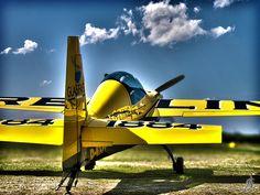 Yellow airplane | by Alessandro Giorgi Art Photography