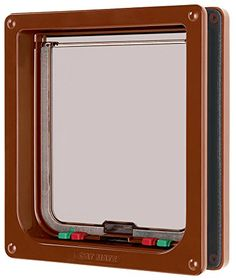 Cat Mate Inc 221 Locking Cat Door  Large brown >>> You can get more details by clicking on the image.