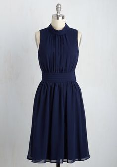 Windy City Dress in Navy, #ModCloth