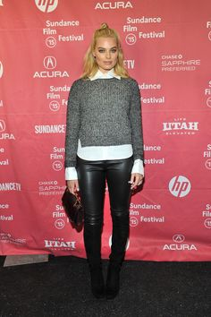 Margot Robbie| Sundance Film Festival 2015: 11 of the best chalet chic looks from a wintry Park City