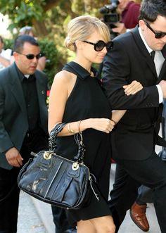 Nicole Richie and boyfriend Joel Madden arrive at Glendale Superior Court