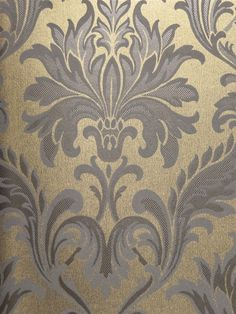 Olympia Silk Damask Wallpaper | AmericanBlinds.com