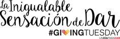#221 #unselfie #GivingTuesday: Pensando en los demás https://domandoallobo.blogspot.com.es/2016/11/221-unselfie-givingtuesday-pensando-en.html