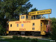 Union Pacific Caboose #25543