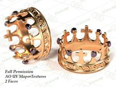 Crown Ring Full Permission