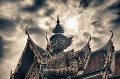 Imperial Palace in Bangkok, Thialand