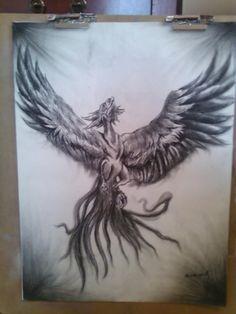 My Phoenix drawing :)