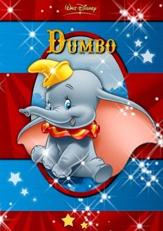 Dumbo [DVD, 1 of 150 high-resolution movie posters in this group. Disney Dumbo, Walt Disney, Disney Love, Disney Magic, Disney Art, Disney Pixar, Dumbo Baby Shower, Baby Dumbo, Disney Cinema