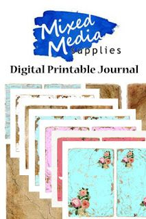 My Stamping Obsession: New Digital Printable Journal Kit