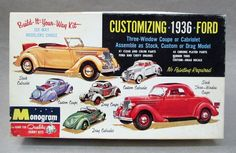 vintage monogram model car kits