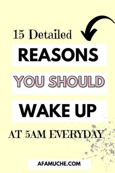 In this self improvement article and self development tips we will discuss 15 of the benefits that you will receive when you wake up first thing in the morning. When you wake up at 5am to be precise.- Morning routine tips, waking up at 5am, waking up early.