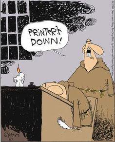 Printer's down!   :)