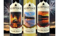 Tomorrow! Thirsty Thursday at the Adirondack Winery!  Fine local wines in a beautiful setting!