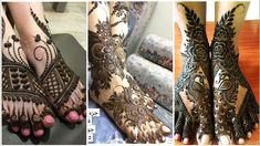 #hennadesignssimple #designcomhenna Outstanding and extremely easy to apply gorgeous henna Mehndi designs for legs 2020