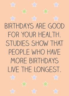 Funny Birthday Clipart Quotes from Celebrities