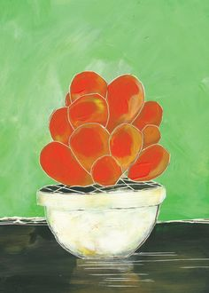 Succulent no. Two. Canvas Print