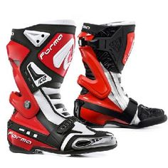 Forma Ice Motorcycle Racing Boots Leather Motorcycle Boots, Motorcycle Gear, Plastic Gears, Bike Frame, Steel Toe, Ss 15, Ducati, Golf Bags, Air Jordans