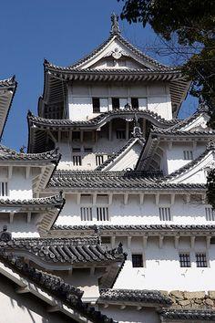 Japan Architecture, Amazing Architecture, Himeji Castle, Japanese Castle, Wakayama, Hyogo, Famous Castles, Japanese Landscape, Japan Photo