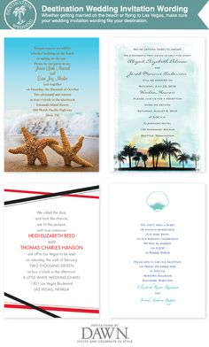 51 Best Destination Wedding Invitations Images Destination Wedding