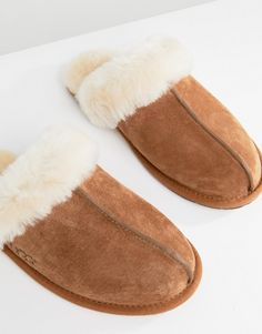 effb711e41dc UGG scuffette II chestnut slippers at asos.com