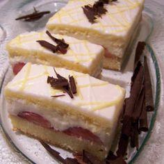 Layered Desserts, Pavlova, Desert Recipes, Dessert Bars, Cheesecake, Deserts, Lemon, Food, Anna