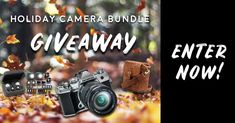 Ends - Open to US and Canada. Includes an Olympus Mark III mirrorless camera, with M.Zuiko lens, Lume Cube Professional Lighting Kit, and MegaGear Messenger Bag + III Case! Photography Editing, Travel Photography, Camera Hand Strap, Christmas Giveaways, Camera Settings, Camera Gear, Olympus, The Creator, Holiday