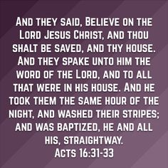 Belief is a Verb that Results in Action Obedient to the Word of God. Because Biblical Baptism is a Salvation Issue and Faith without Works is Dead-