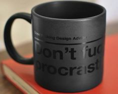 dont-fucking-procrastinate-black-mug