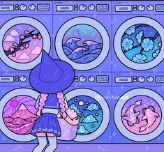 vaporwave fotos vaporwave desenho Vaporwave laundromat which machine would you choose I wanted to try some new colors together in this hope ya like it next drawing might be a drink drawing! Aesthetic Drawing, Aesthetic Art, Aesthetic Anime, Kawaii Illustration, Japon Illustration, Digital Illustration, Arte Do Kawaii, Kawaii Art, Cute Art Styles