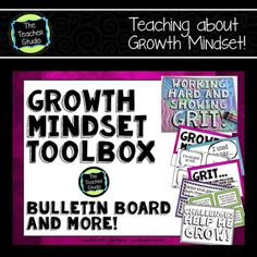 Teaching a growth mindset should be as much a part of our planning as teaching reading, writing, and math. This post explains why productive struggle, mindset, and learning behaviors are so important! Growth Mindset Lessons, Growth Mindset Activities, Growth Mindset Posters, Behavior Management, Classroom Management, Student Teaching, Teaching Kids, Teaching Grit, Student Leadership