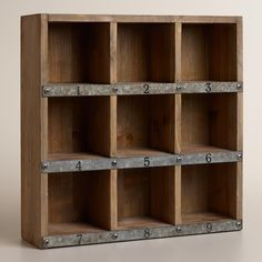 http://www.worldmarket.com/product/wood and metal owen numbered desk cubby.do?