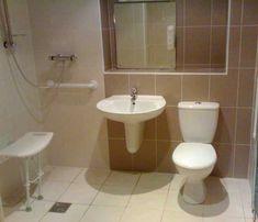 Disabled Wet Room #AccessibleBathroomDesigns >> Visit us at http://www.disabledbathrooms.org/disabled-bathroom-flooring.html