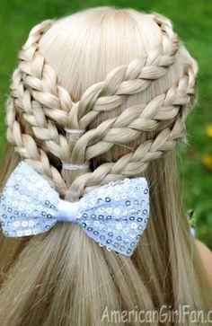 Little Girl Hairstyles Ideas In 2020 20 Fancy Little Girl Braids Hairstyle Little Girl Braid Hairstyles, American Girl Hairstyles, Little Girl Braids, Cool Braid Hairstyles, Girls Braids, Up Hairstyles, Pretty Hairstyles, Teenage Hairstyles, Toddler Hairstyles