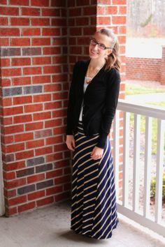 My Favorite Maxi Skirt