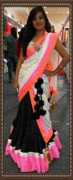 #lehenga #sari #traditonal #black