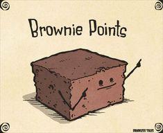 #todaysHumour . . . .  #joke #jokes #pun #puns #clever #wordplay #playonwords #playwithwords #funny #funnies #todaysfunnies #fun #jokeoftheday #punoftheday #sillyjokes #humour #humor #humourous #humorous #Brownie #brownies #Browniejoke #dessertjoke