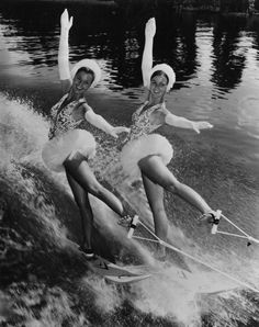 Going to see the Aqua-Cade in the 50s was a blast - the water-skiing was my favorite!