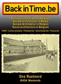 Ons Rustoord Vakantiestraat 3 | 8434 Westende  Architecture sociale en Belgique Sociale architectuur in België Soziale Architektur in Belgien Social architecture in Belgium