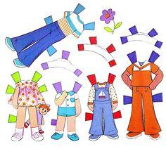 Paper Dolls~Honey Hill Bunch - Bonnie Jones - Picasa Webalbum