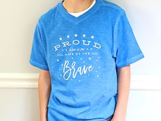 """Proudly proclaim your true-blue American spirit with this iron-on decal. """"Meet the Maker"""": Celebration Shoppe – 4th of July -   
