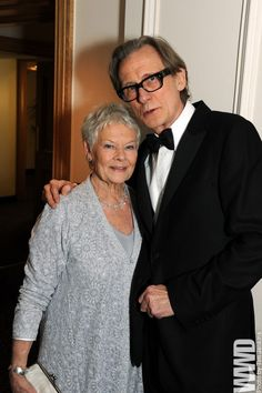 Bill Nighy and Judi Dench... two of the greatest actors of our time.