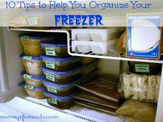 10 Organizing Tips To Get Your Freezer & Fridge In Order