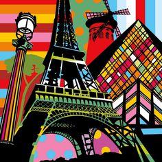 Lobo - Paris Pop - Fine Art Print