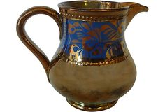 One Kings Lane is an online marketplace that brings shoppers exceptional value on a spectacular collection of top-brand, designer, and vintage items for the home. Vintage Market, Luster, Tea Set, Bristol, Vintage Furniture, Past, Copper, England, Pottery