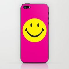 smiley02 iPhone & iPod Skin by karen owens - $15.00