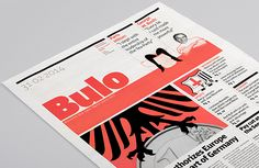 It's Nice That : Mucho designs newspaper type specimens for left and right-wing fonts