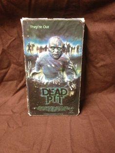 DEAD PIT VHS (1990, HORROR, 3D COVER)