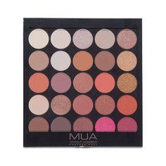 MUA Eyeshadow Palette  Burning Embers 030