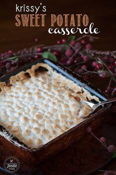 Krissy's Sweet Potato Casserole   Self Proclaimed Foodie